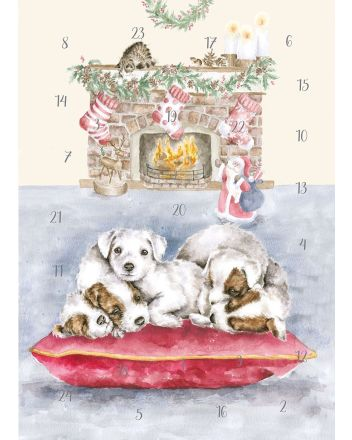 Wrendale All I Want For Christmas A4 Advent Calendar