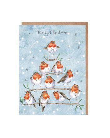 Wrendale Rockin Robins Advent Calendar
