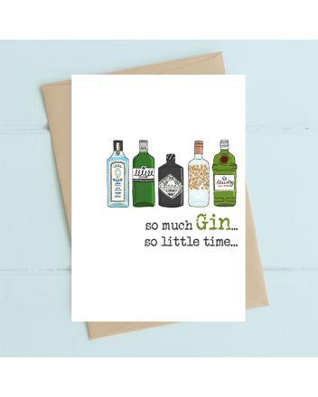 Dandelion So Much Gin Birthday Card