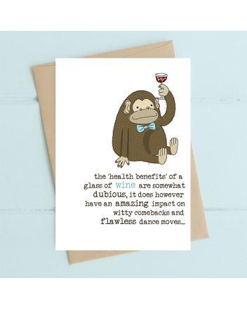 Dandelion Wine Health Benefits Birthday Card