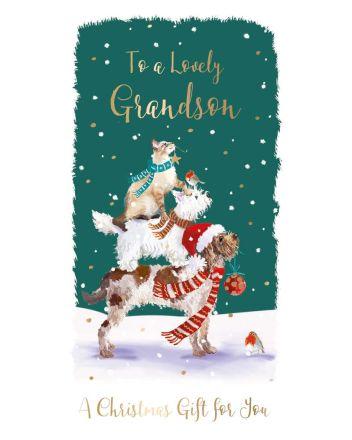 Ling Grandson Christmas Money Wallet