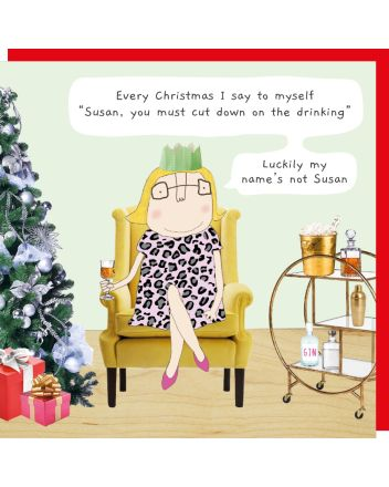 Rosie Made a Thing Susan Christmas Card