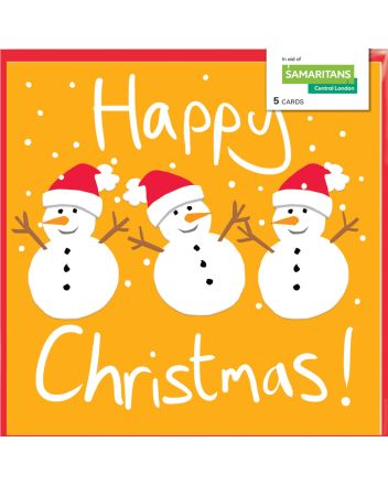 Lucilla Lavender Snowman Charity Christmas Cards