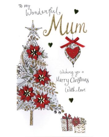 Second Nature Mum Tree Christmas Card