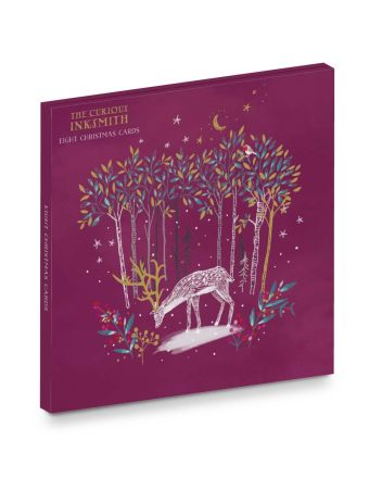 Ling Enchanted Forest Christmas 8 Card Wallet