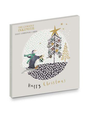 Ling Artic Christmas 8 Christmas Card Wallet
