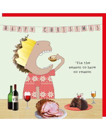 Rosie Made a Thing Tis The Season Christmas Card