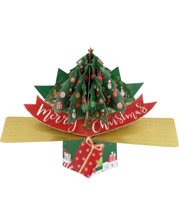 Second Nature Pop Up Tree Christmas Card