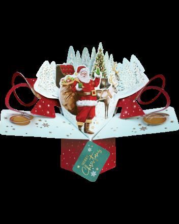 Second Nature Santas Sleigh Christmas Card