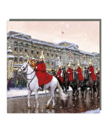Tracks 5 Royal Guard on Horseback Christmas Cards