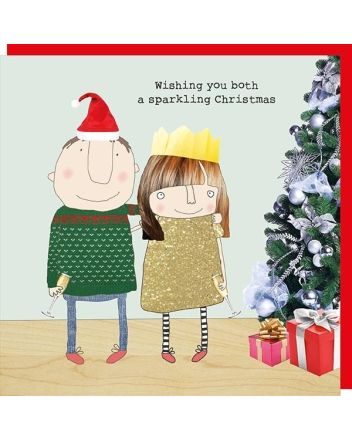 Rosie Made a Thing Both of You Christmas Card