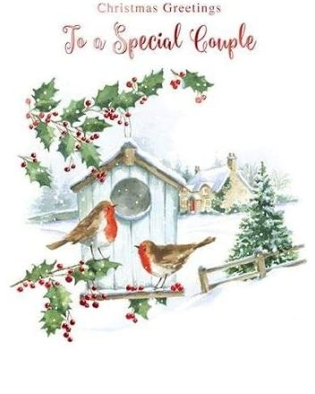 Paperhouse Special Couple Christmas Card