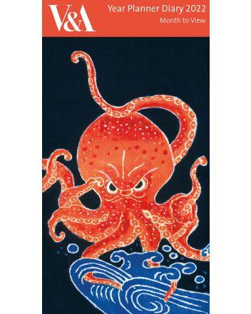 Japanese Octopus 2022 Planner